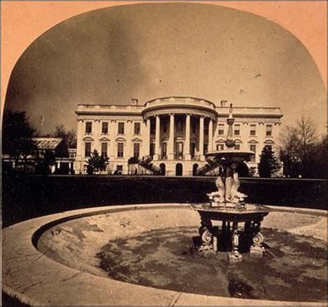 where was the original white house historical views of the white house gardens and grounds