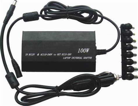 charger laptop universal dilengkapi dengan banyak adaptor yang berbeda beda hargakom puter