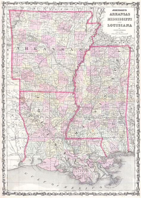 map louisiana and mississippi file 1861 johnson map of mississippi louisiana arkansas
