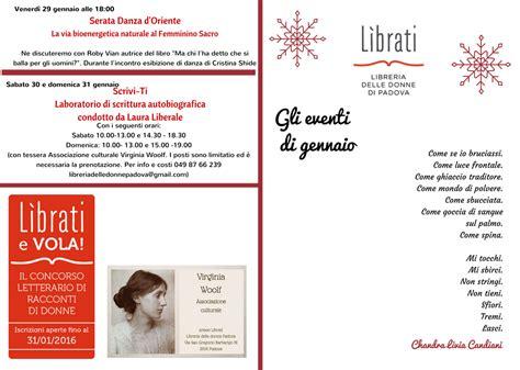 libreria delle donne di gli eventi di gennaio libreria delle donne