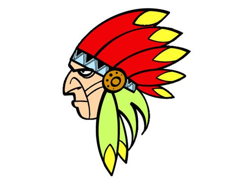 imagenes para dibujar indigenas jefe indio dibujo imagui
