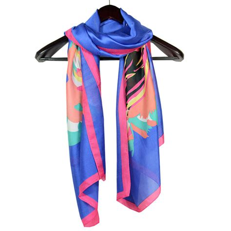 top selling floral silk scarf china scarf