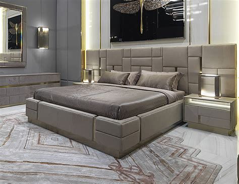 designer bed nella vetrina visionnaire ipe cavalli beloved beige bed in