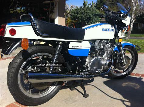 1979 Suzuki Gs1000 1979 Suzuki Gs1000s Wes Cooley Replica Superbike Vintage Ahrma