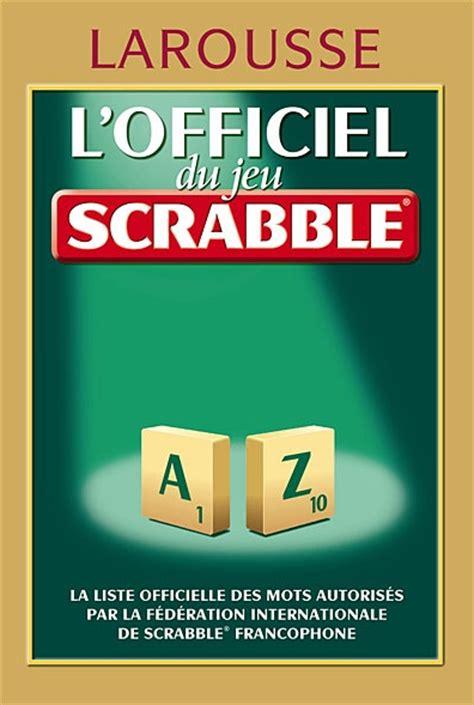 is qu a word in scrabble officiel du scrabble