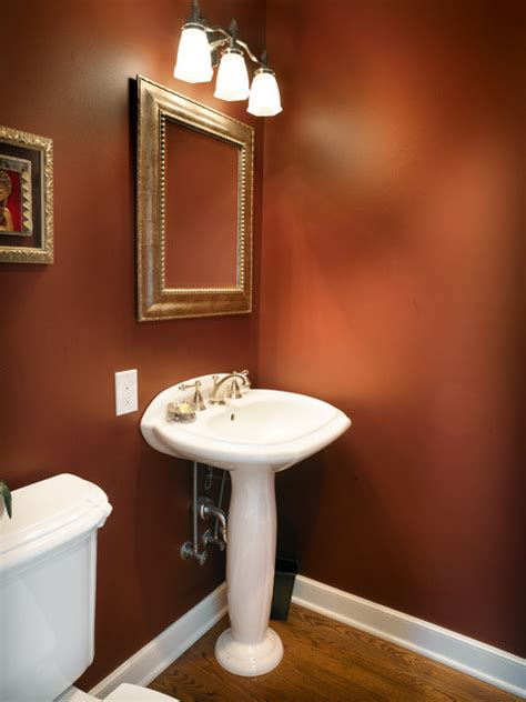 Very Small Bathroom Decorating Ideas by Bath 4055 Traditional Powder Room Columbus By J S