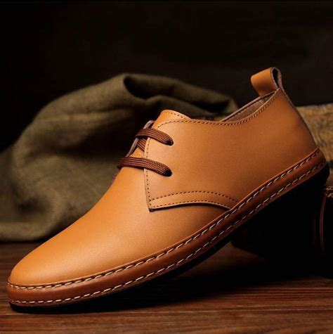 2017 new fashion s genuine leather shoes