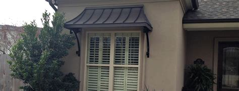 Metal Awnings For Homes by Metal Awnings Copper Awnings Canvas Awnings Shipped In Usa
