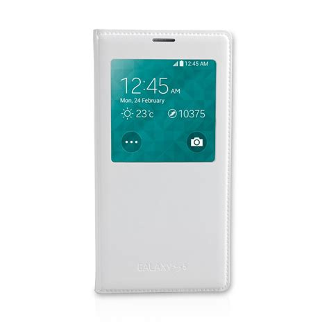 samsung galaxy s5 mobile official samsung galaxy s5 s view cover white mobile
