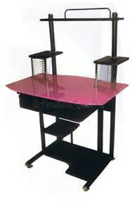 Pink Glass Desk by Computer Desk Pink Glass Amt 779 By Home Source
