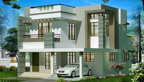home design in 20 50 2050 sq ft double floor contemporary home design