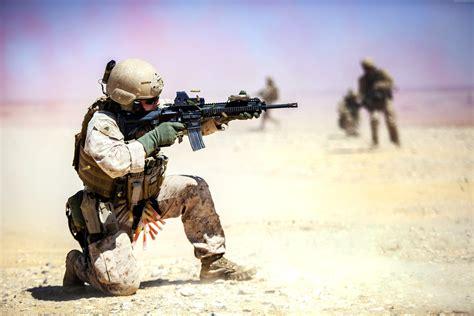desert military wallpaper m4 carbine assault rifle u s army soldier