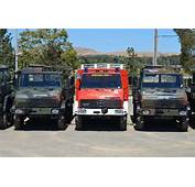 Military Vehicle Fleet Of Mercedes Trucks For Sale