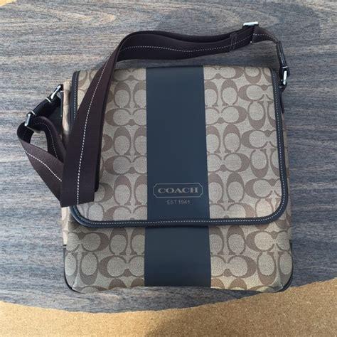 Coach Signature Massenger Bag Large Authentic Product coach messenger bag heritage coachonline