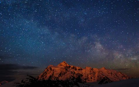 starry night wallpaper for mac nf70 starry night sky mountain nature wallpaper