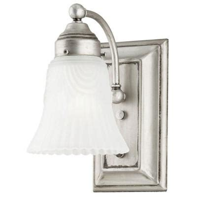 home depot interior light fixtures westinghouse 1 light antique pewter interior wall fixture with on switch and frosted pleated