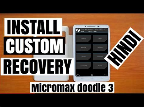 how to use otg in micromax doodle 3 how to install custom recovery in micromax a102 micromax