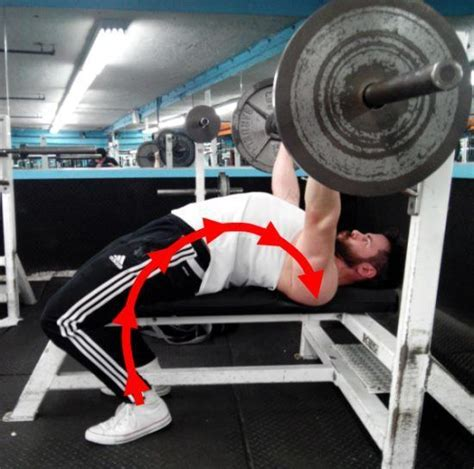 bench press arch back 9 tips for improving leg drive on bench press