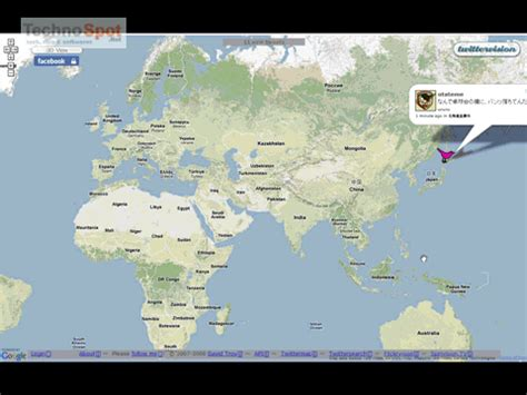 live maps earth 3d tweets in real time on maps and 3d earth
