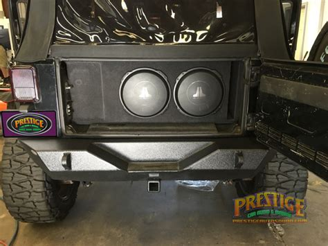 Jeep Sound System 2007 Jeep Wrangler Audio System Upgrades For Metairie Client