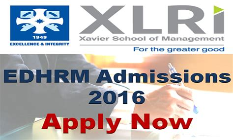 Executive Mba From Xlri 2015 by Xlri Jamshedpur Executive Diploma In Hr Management