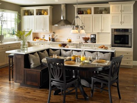 kitchen island with built in table kitchen table gallery 2017