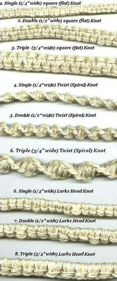 Macrame Knots Hemp - hemp bracelet patterns on hemp bracelets hemp