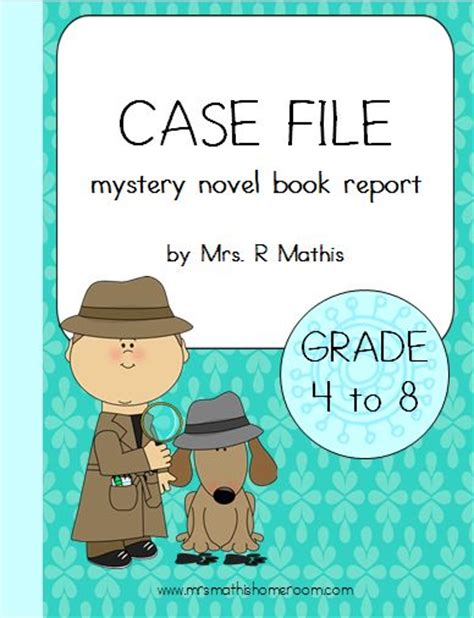 mystery book report projects mystery novel book report file project