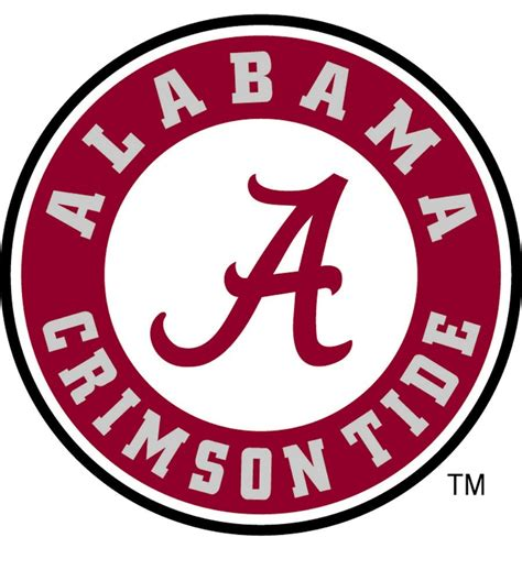 of alabama colors of alabama logo logospike and