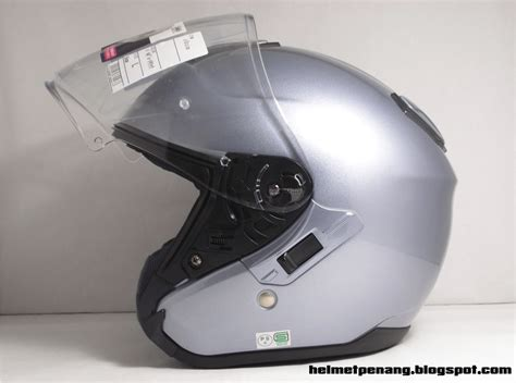 Helm Shoei J Cruise Grey Not Arai Agv Nolan Shark helmetpenang shoei j cruise pearl metallic grey
