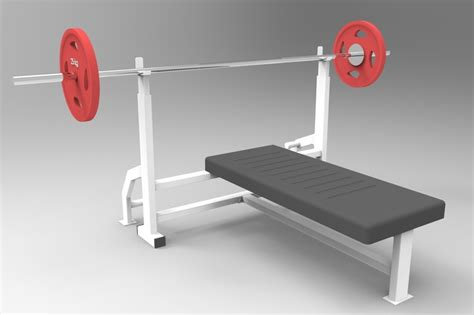 chest press bench press chest press bench press barbell gym step iges