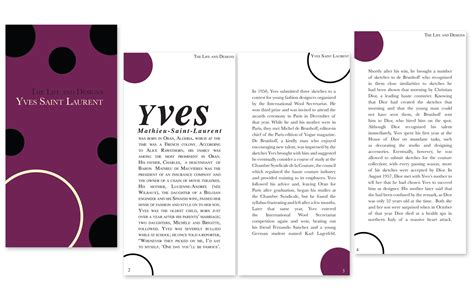 booklet layout design download magazine and book layouts and designs by fabienne azor at