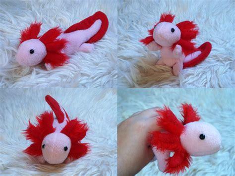 Axolotl Plushie by Rayaya on DeviantArt