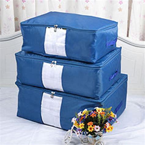 comforter storage bags clothes bedding duvet handles laundry pillows zipped