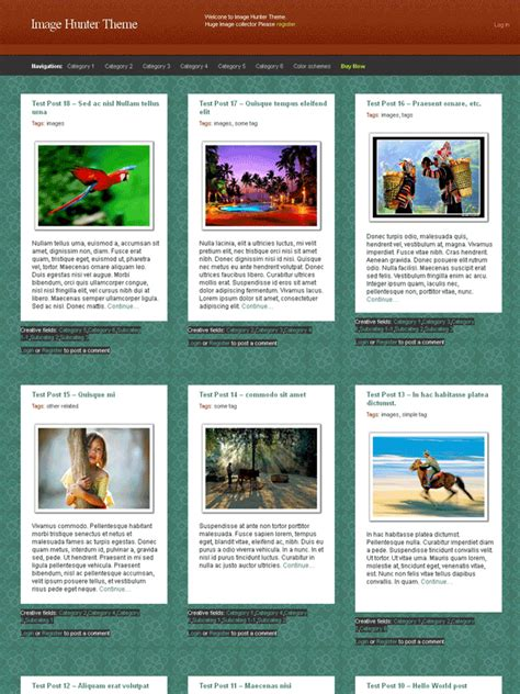 photo gallery template image photo gallery template