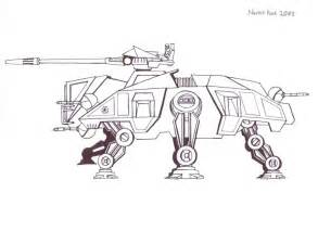 Star Wars At Walker Coloring Page Sketch sketch template