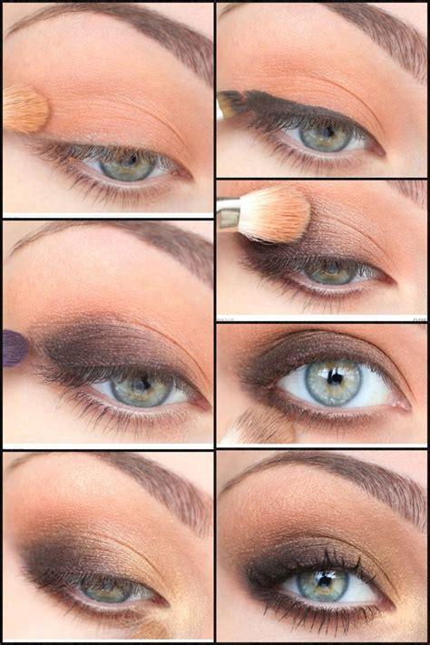 eyeliner tutorial for brown eyes brown eye makeup tutorial senior banquet hair pinterest