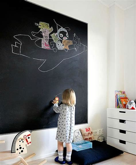 interactive walls for kid spaces homes