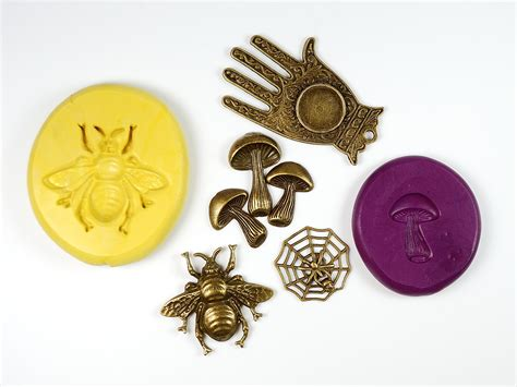 make silicone molds from charms the blue bottle tree