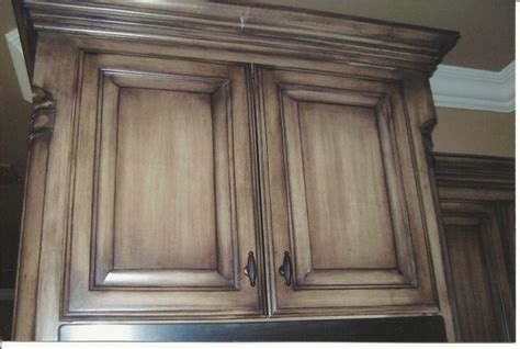 Glazing Kitchen Cabinets Before And After by Houzz Photo