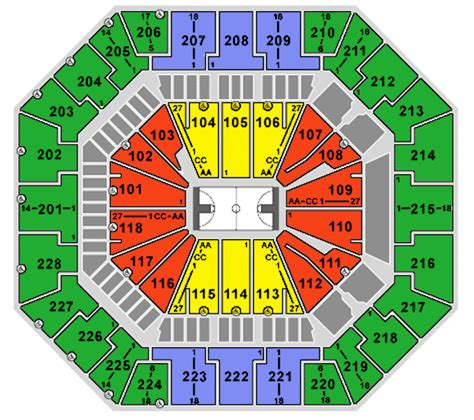 colonial arena seating south carolina gamecocks vs limestone december 23 columbia