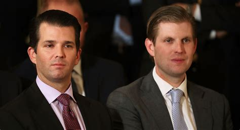 donald trump son trump s sons push their father s presidency and hotel