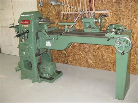 pattern makers wood lathe for sale photo index wadkin ltd rs6 vintagemachinery org