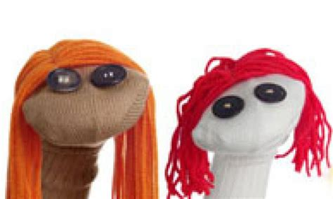 sock puppets with toddlers make a sock puppet kidspot