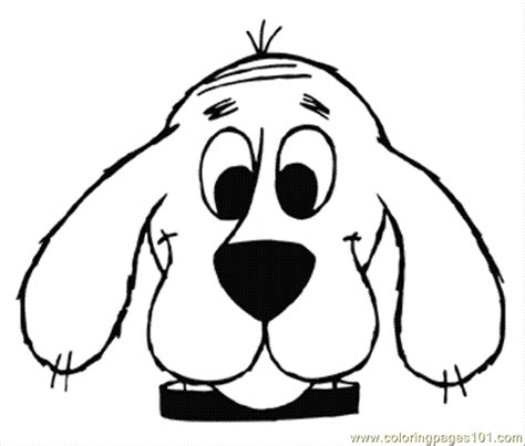 clifford coloring pages halloween free clifford coloring pages