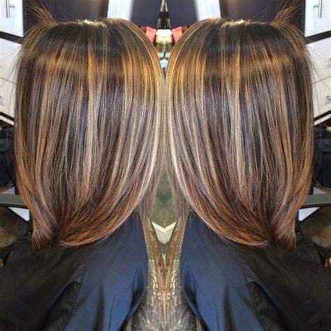 chromasilk over brown hair 25 best ideas about highlights for brunettes on pinterest