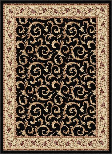 Where To Buy Area Rugs Where To Buy Universal Rugs 5403 Elegance Area Rug 9 3 Inch By 12 6 Inch Black Amadi