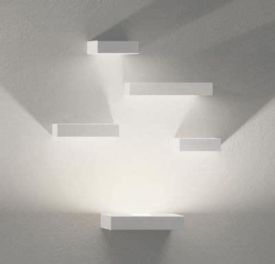 big white illuminazione set wall light white by vibia