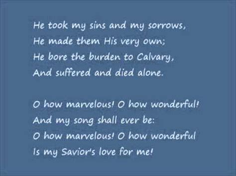 in his presence there is comfort lyrics acappella i stand amazed lyrics