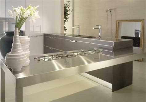 modern countertops stylish kitchen countertop materials 18 modern kitchen ideas